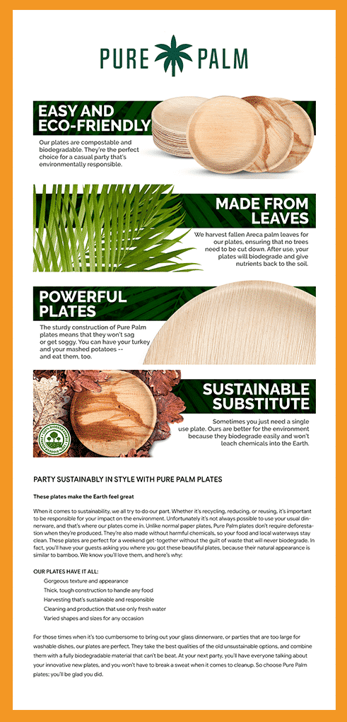 Pure Palm Benefits and Ingridients