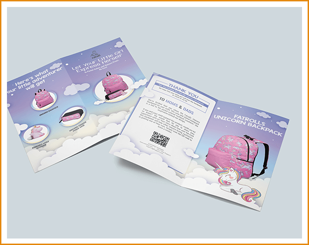 Pink Bag Inserts by Prime Label Studios
